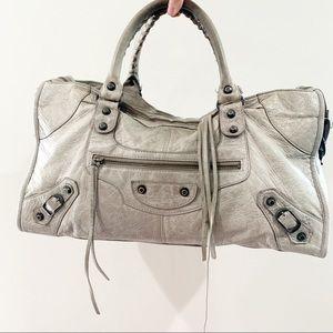 Balenciaga Classic City Bag in Gray